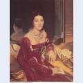 Portrait of madame de senonnes