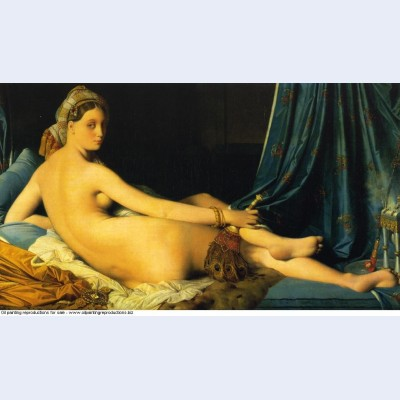 The grande odalisque 1814