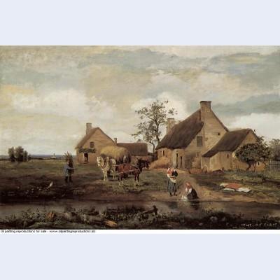 A farm in the nievre 1831