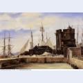 Honfleur the old wharf