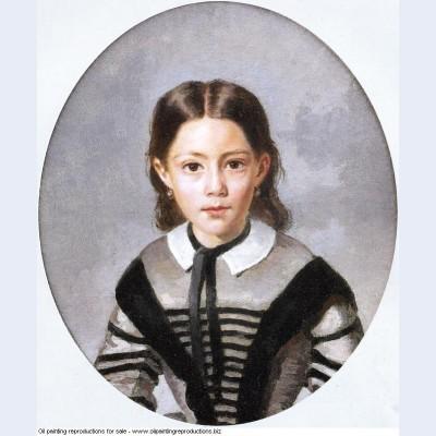 Louise laure baudot at nine years