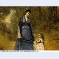 Madame stumpf and her daughter 1872