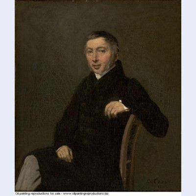 Portrait of laurent denis sennegon 1842