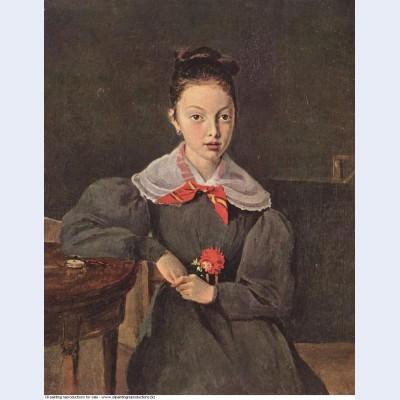 Portrait of octavie sennegon 1833