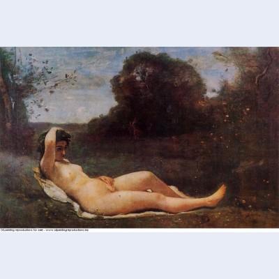 Reclining nymph 1859