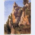 Rocks at civita castellana 1827