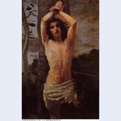 Saint sebastian 1851