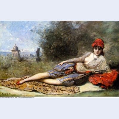 Sicilian odalisque 1872