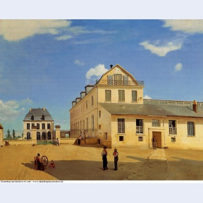 Soissons houses and factory of mr henry 1833