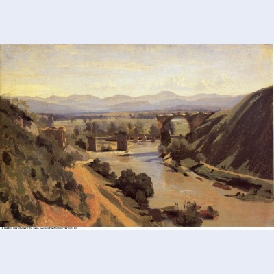 The augustan bridge at narni 1826
