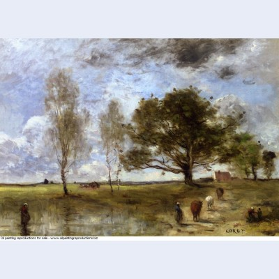 The cow path 1870