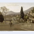 The gardens of the villa d este tivoli 1843