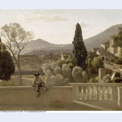 The gardens of the villa d este tivoli 1843