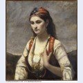 The young woman of albano
