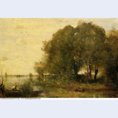 Wooded peninsula 1868