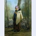 The knitting shepherdess