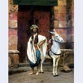 Sais and his donkey