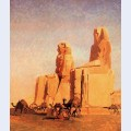 Thebes colosseums memnon and sesostris study