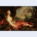 Portrait of mary adelaide of france as diana