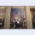 Death of saint genevi ve panth on paris