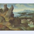 Landscape with the flight