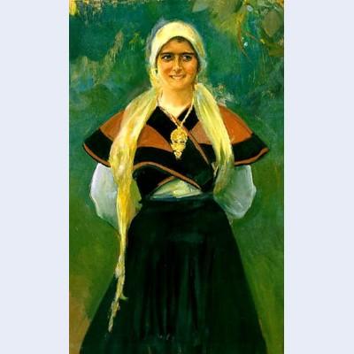 Asturian girl