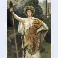 The priestess of bacchus