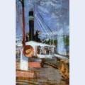 Aboard a steamer
