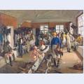 The jockeys dressing room at ascot