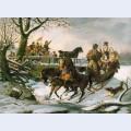 The sleighing frolic