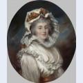 Portrait of a girl in a bonnet
