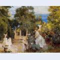 A garden in corfu 1909