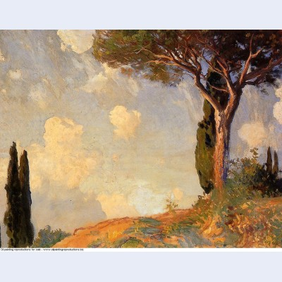 A landscape study at san vigilio lake of garda