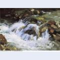 A mountain stream tyrol 1914