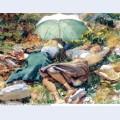 A siesta 1907