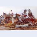 A wrecked sugar refinery 1918