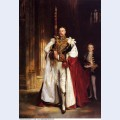 Charles stewart sixth marquess of londonderry carrying the great sword of state at the coronat 1904