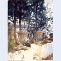 Corfu the terrace 1909