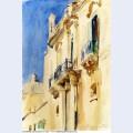 Fa ade of a palazzo girgente sicily