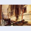Gondoliers s siesta 1905