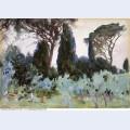 Landscape near florence 1907