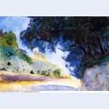 Landscape olive trees corfu 1909
