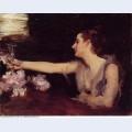 Madame gautreau drinking a toast 1883