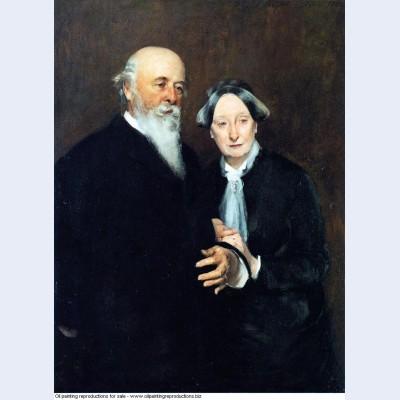 Mr and mrs john w field 1882