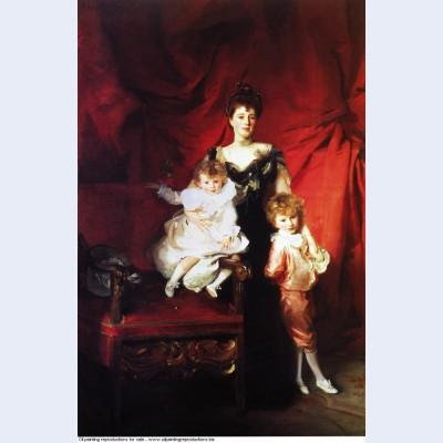 Mrs cazalet and her children 1901