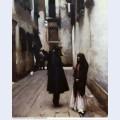 Venetian street 1882