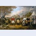 The surrender of general burgoyne