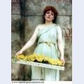 A flower seller 1896