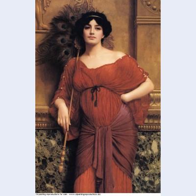 A roman matron 1905