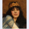 Head of a girl also known as the priestess 1896